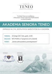 Akademia Seniora Teneo 16.02.2016